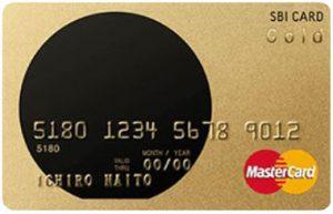 SBIゴールドカード盤面